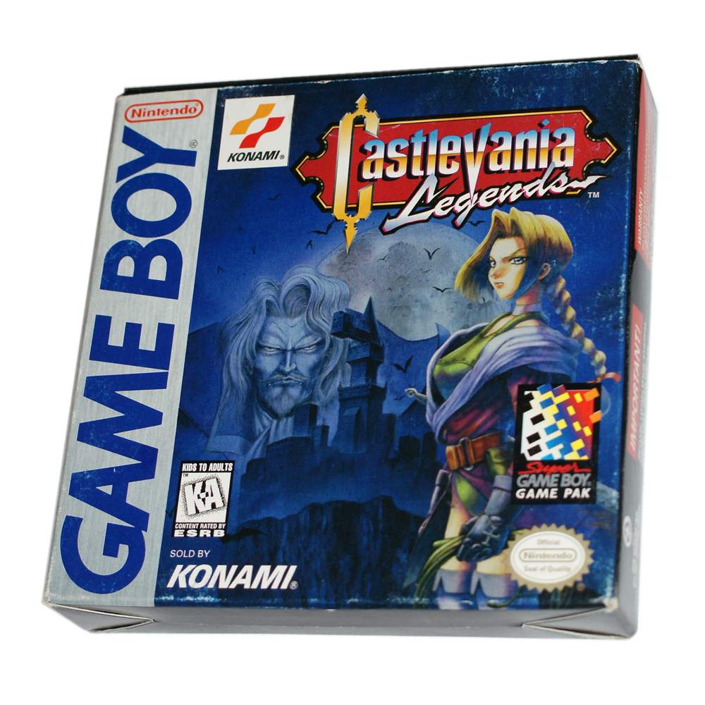 castlevania legends for game boy is a really great castlevania game