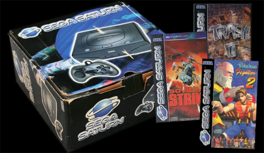 Sega Saturn in original box