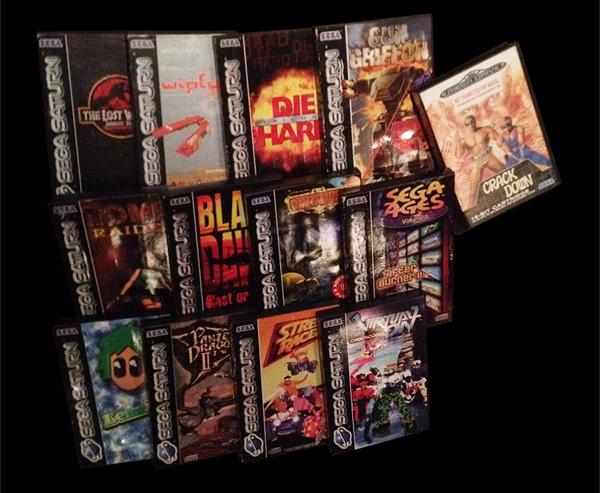Sega Saturn Game Lot Retro Video Gaming