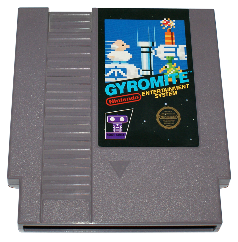 Gyromite For Nes Retro Video Gaming