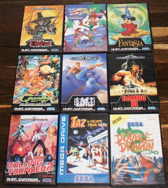 and even more Sega games =D | Retro Video Gaming
