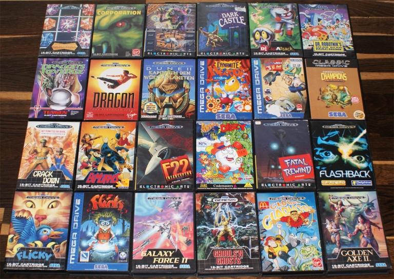 Игры на сега список всех игр с картинками