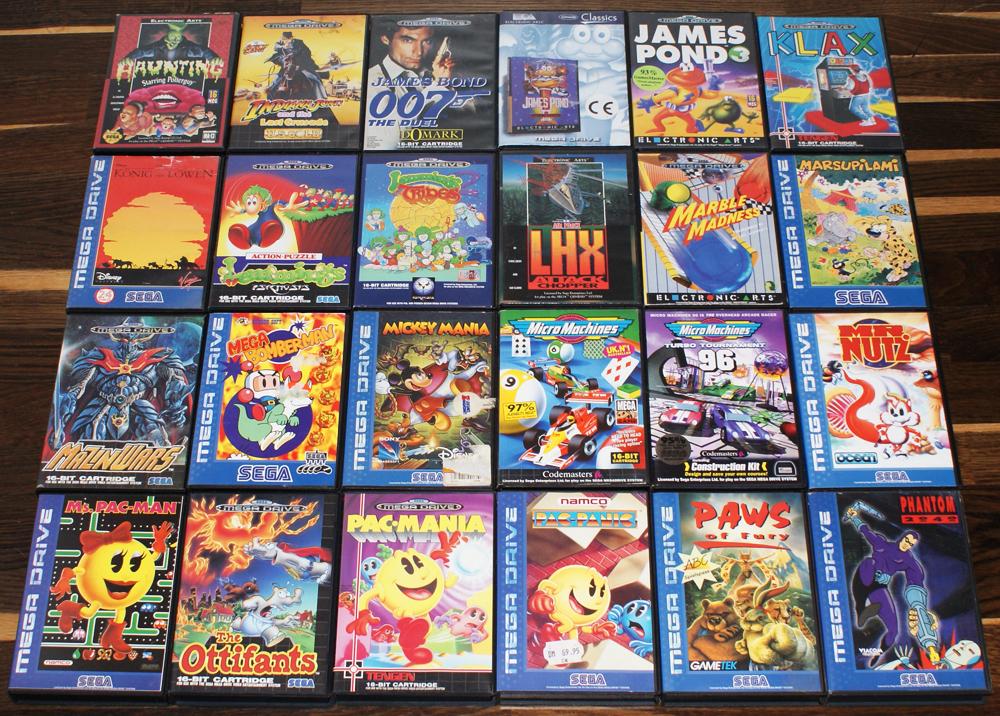 My Sega Collection | Retro Video Gaming