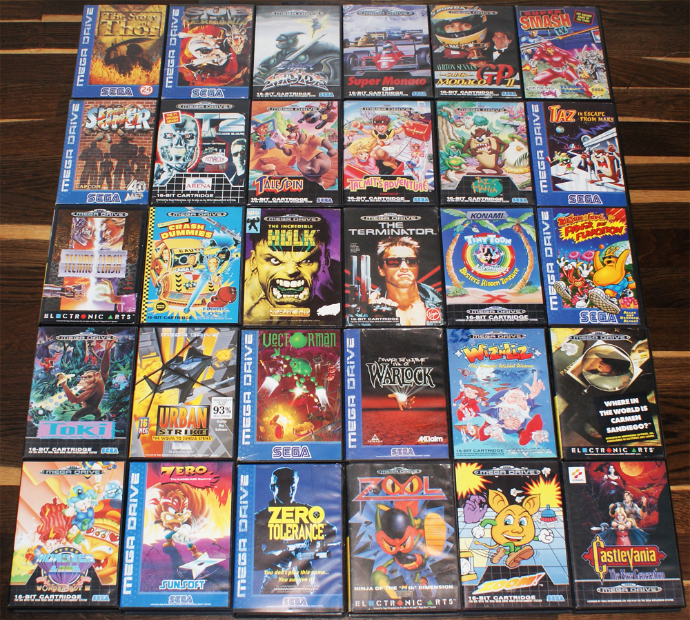 Sega genesis free games / Big home depot