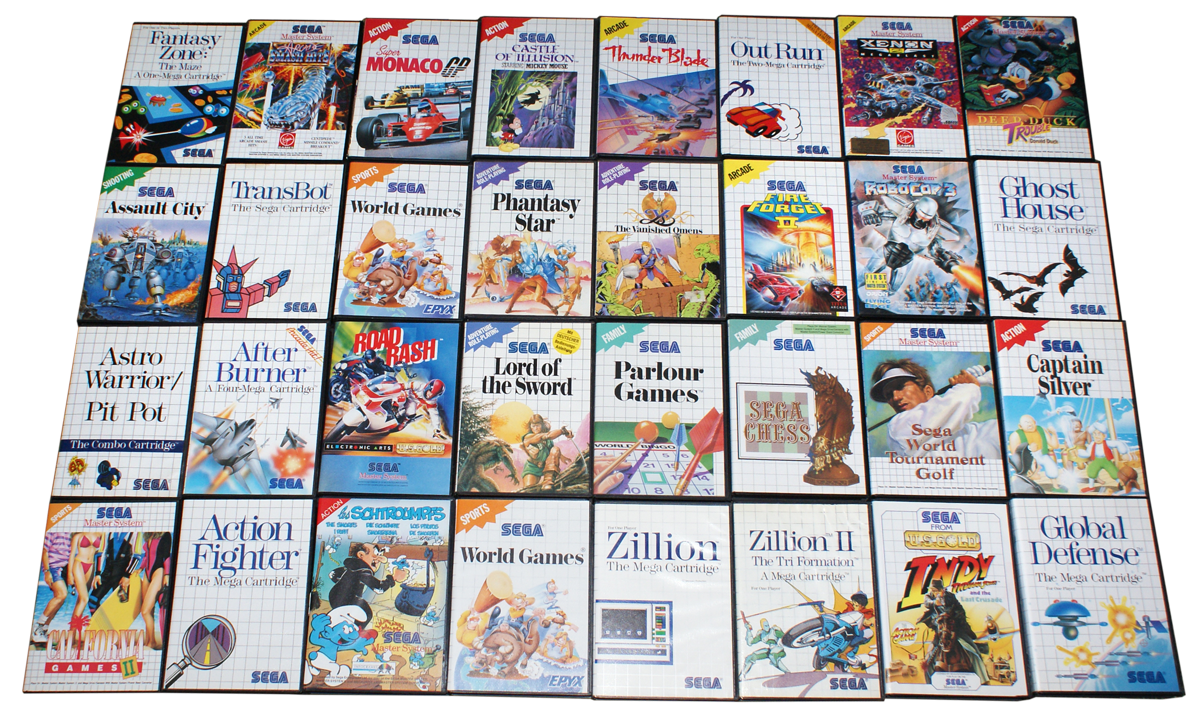 Images of Sega Master System Game List - #rock-cafe