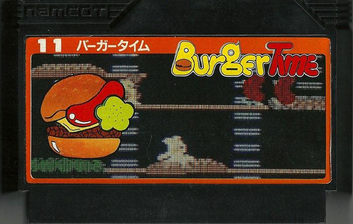 Burger Time - Famicom