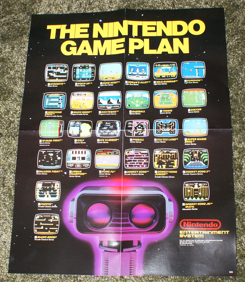 The Game Plan Poster of The Nintendo Game Plan
