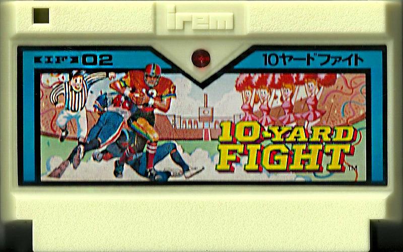 10-Yard Fight - Famicom