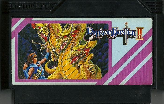 Dragon Buster II - Famicom