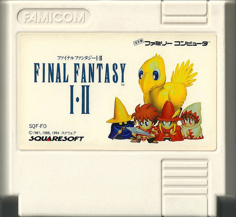 Final Fantasy 1 2 - Famicom