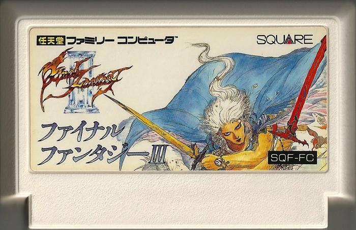 Final Fantasy III - Famicom