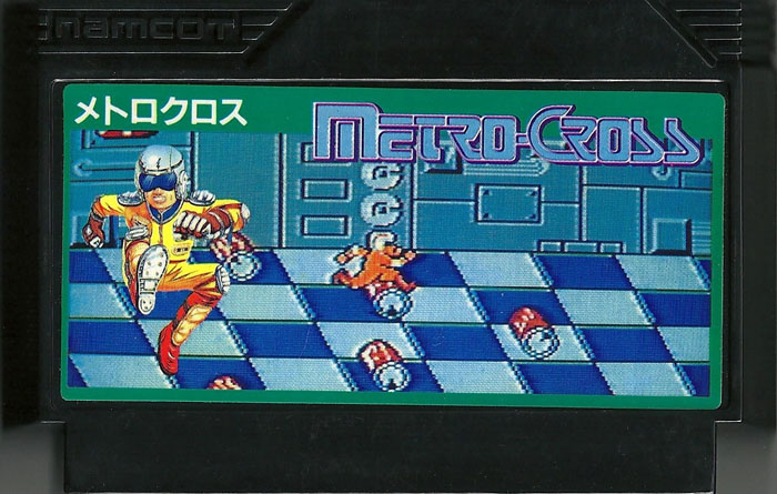 Metro Cross - Famicom
