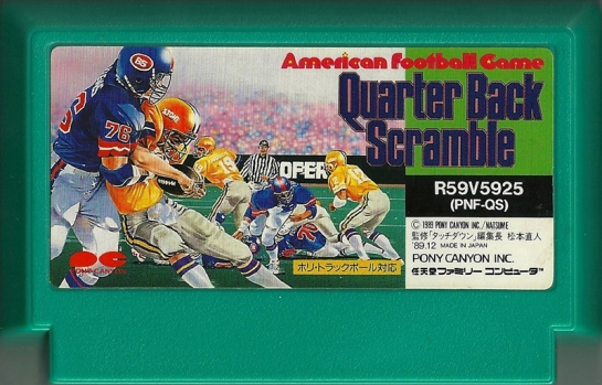 Quarter Back Scramble_