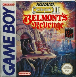 Game Boy - Castlevania II Belmont's Revenge