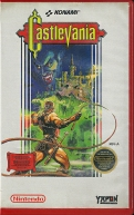 NES - Castlevania Yapon rental case