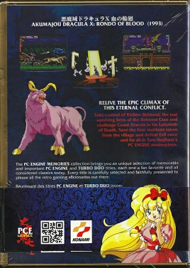 PC Engine - Castlevania Rondo of Blood reproduction