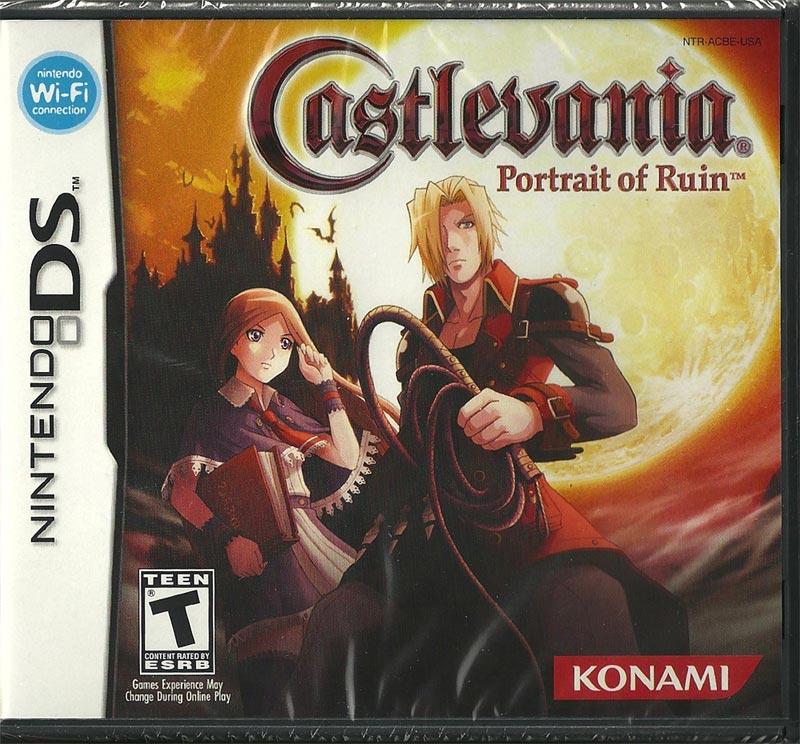 DS - Castlevania Portrait of Ruin