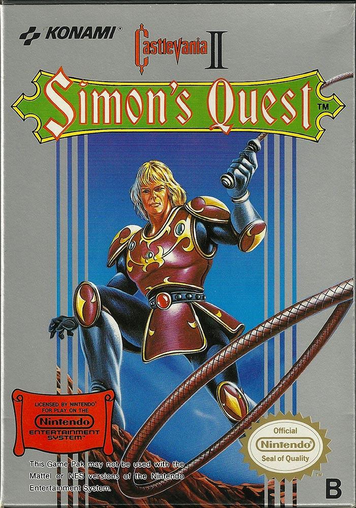 Nes Castlevania Simon S Quest Complete Retro Video Gaming