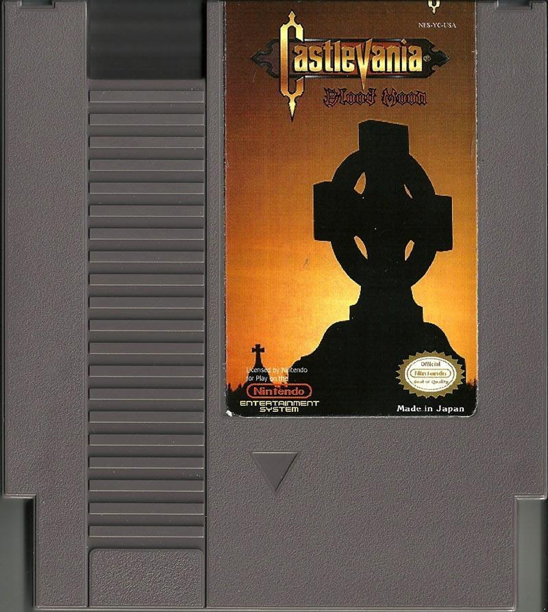 NES Hack - Castlevania Blood Moon