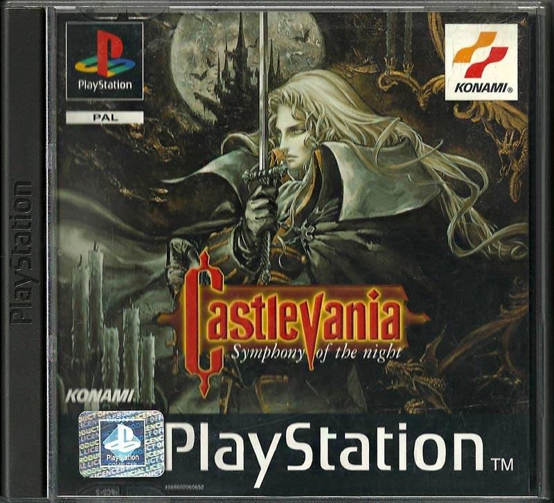PS1 - Castlevania Symphony of the Night