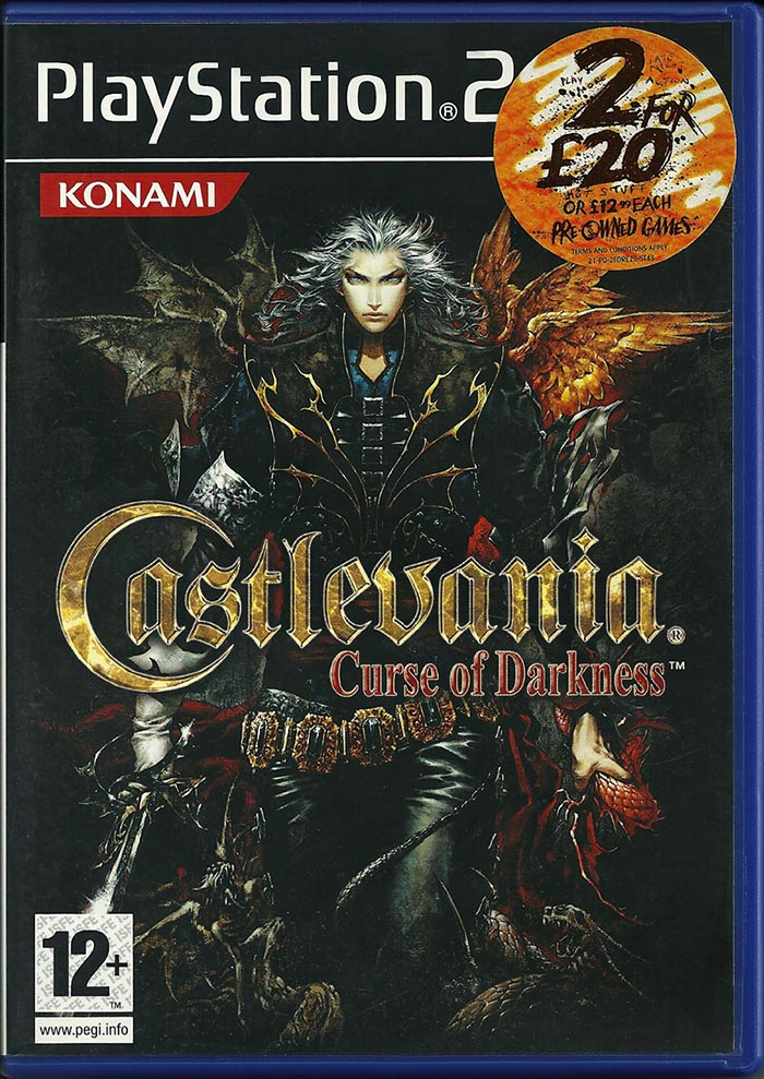 PS2 - Castlevania Curse of Darkness