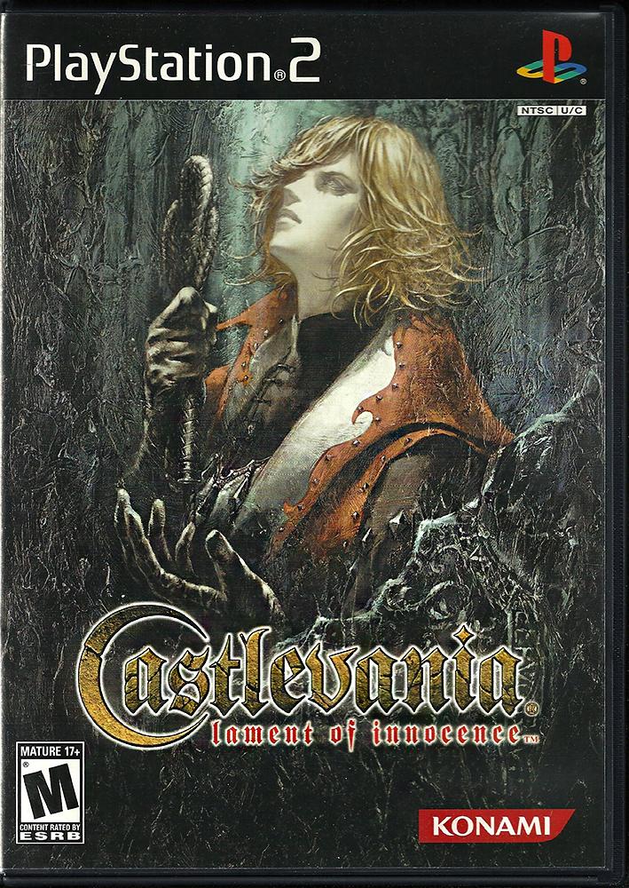 PS2 - Castlevania Lament of Innocence US