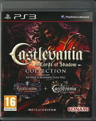PS3 - Castlevania Lords of Shadow collection