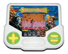 Simon's Quest Tiger Handheld