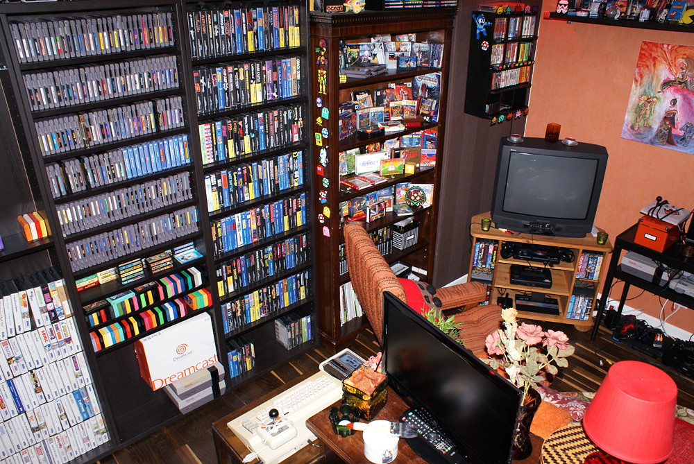 Retro room my collection retro video gaming for All decoration games