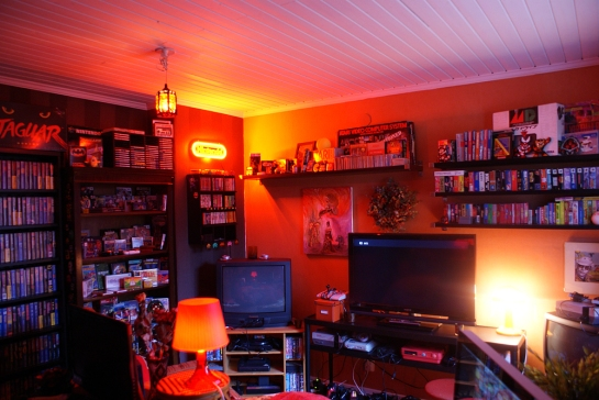 Retro Video Game Room 2