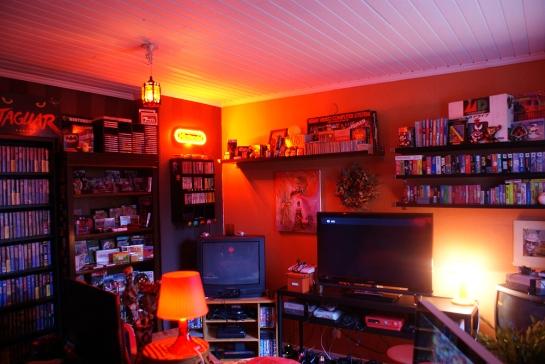 Retro Video Game Room 2