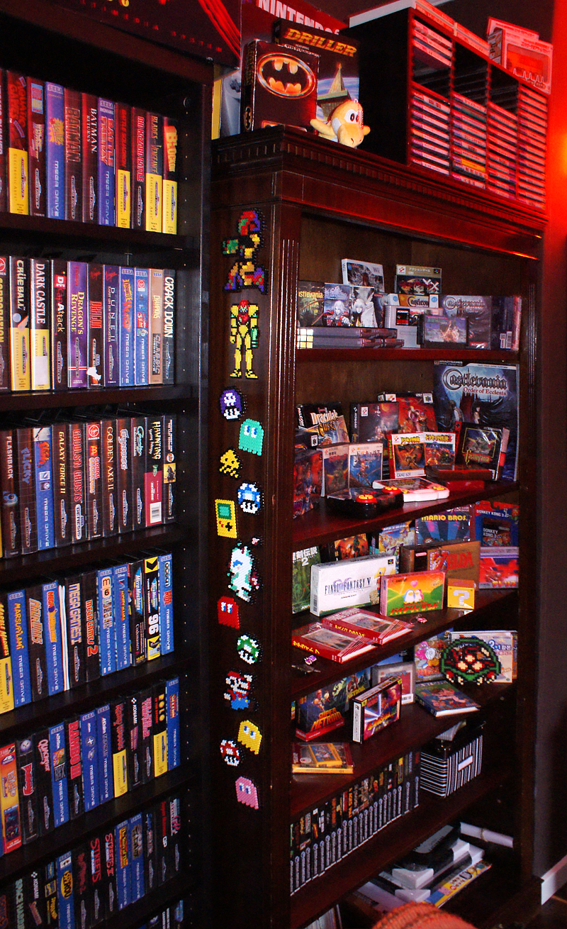 Retro room my collection retro video gaming for 8 bit room decor