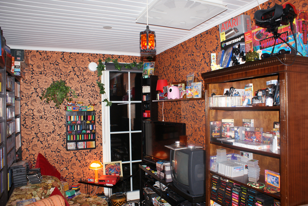 Retro Room My Collection Retro Video Gaming - Retro games room ideas