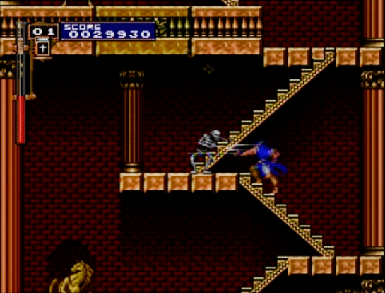15 Castlevania Rondo of Blood stairs