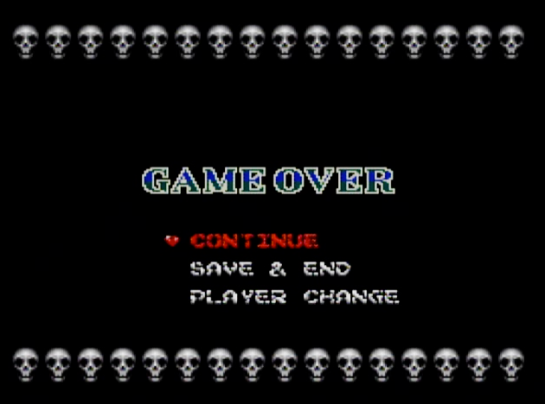 18 Castlevania Rondo of Blood Game Over