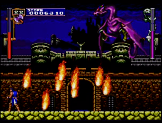 5 Castlevania Rondo of Blood First boss
