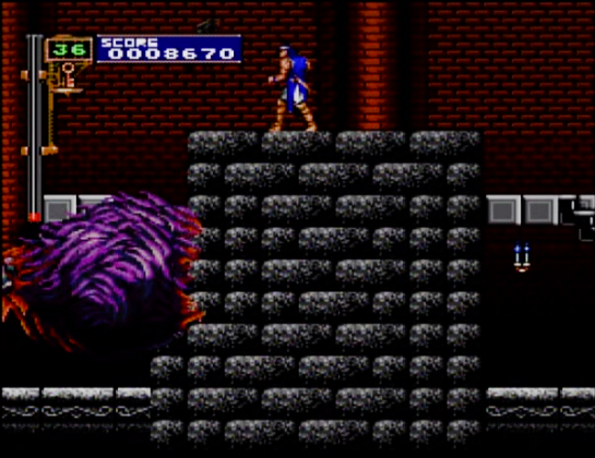 9 Castlevania Rondo of Blood Beast lost his head