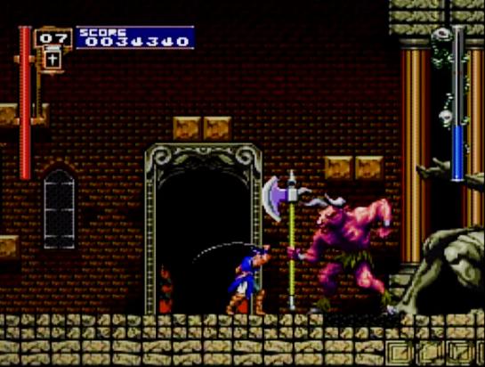 Castlevania Rondo of Blood third boss