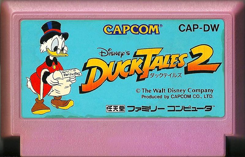 DuckTales 2 - Famicom