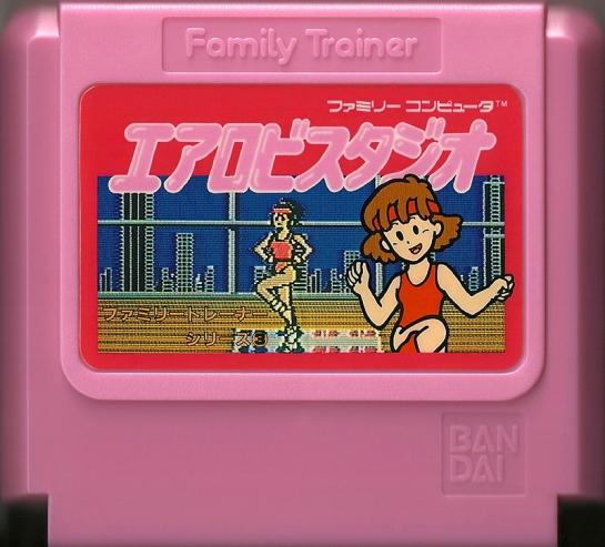 Family Trainer 3 Aerobics Studio - Famicom
