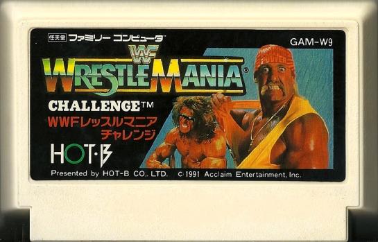WWF Wrestle Mania Challenge
