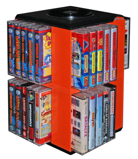 Cassette box with C64 games!
