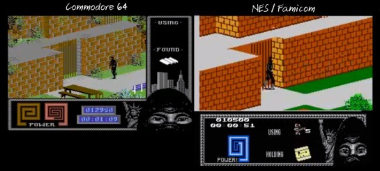 The Last Ninja NES-C64 comparison4