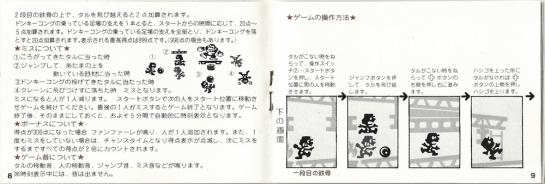 Donkey Kong Game&Watch manual3