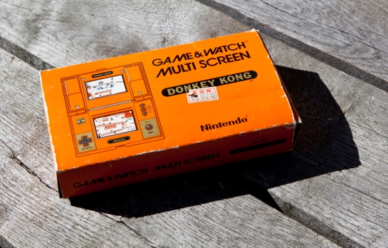 Game & Watch Donkey Kong Box