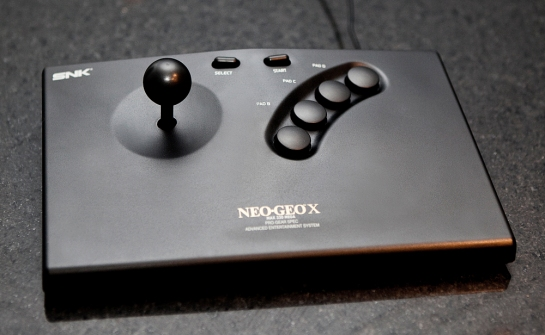 Neo Geo X Gold Limited Edition Arcade Joystick
