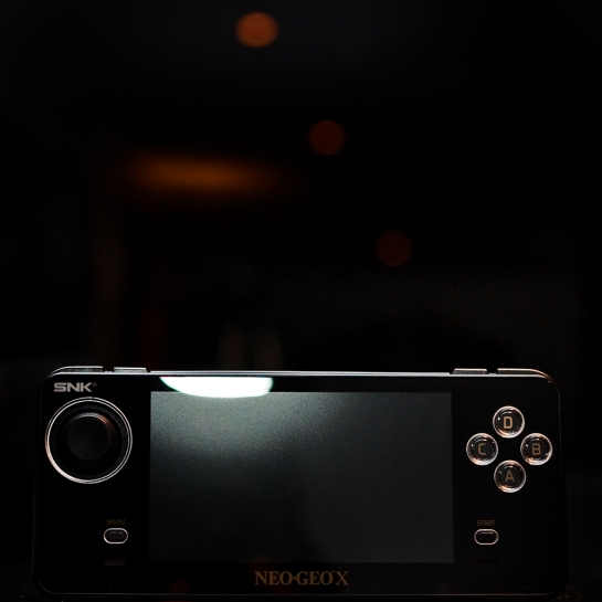 Neo Geo X Gold Limited Edition black