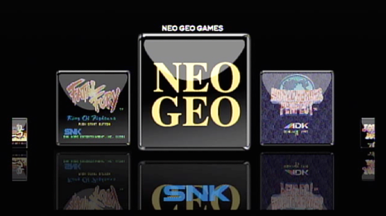 Neo Geo X Gold Limited Edition Interface