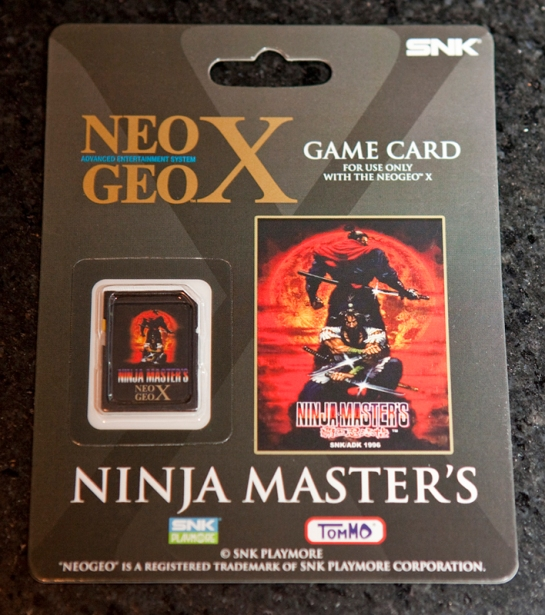Neo Geo X Gold Limited Edition Ninja Masters