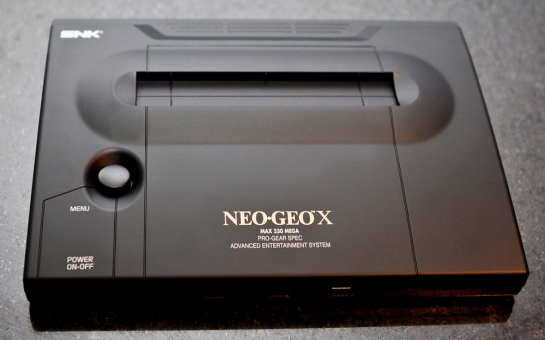 Neo Geo X Gold Limited Edition System Case